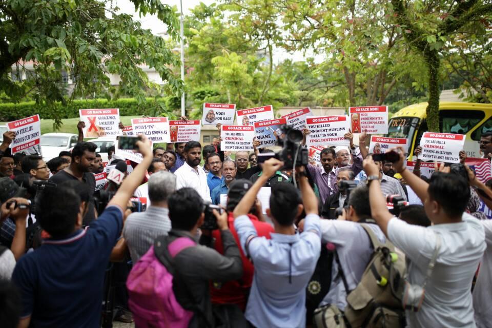 Gabungan NGO Malaysia Bantah Lawatan Modi