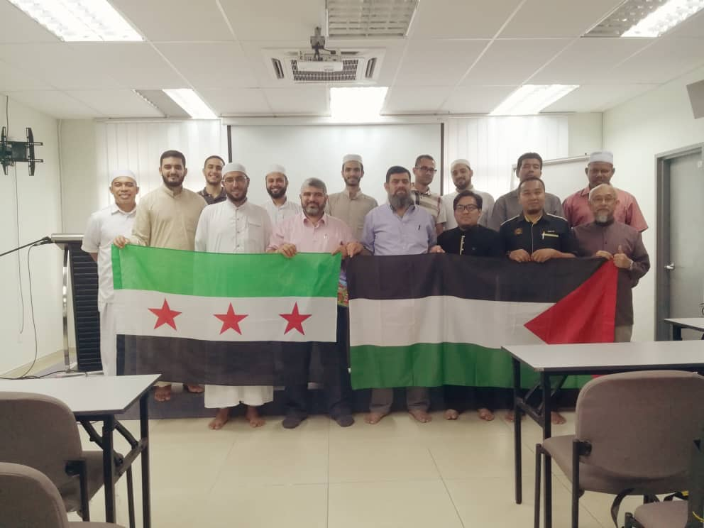 Sukses Ramadan Bersama Hufaz Palestin-Syria