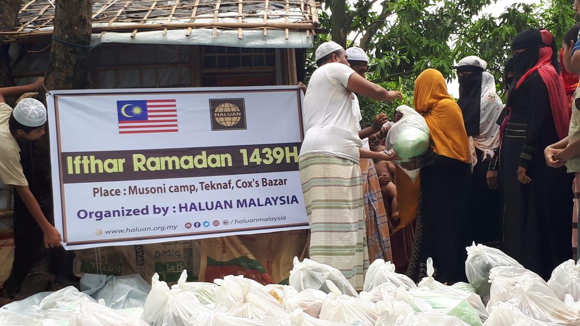 Penderma Prihatin Malaysia Kongsi Pahala di Ramadan