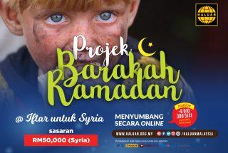 Projek Barakah Ramadan – Syria