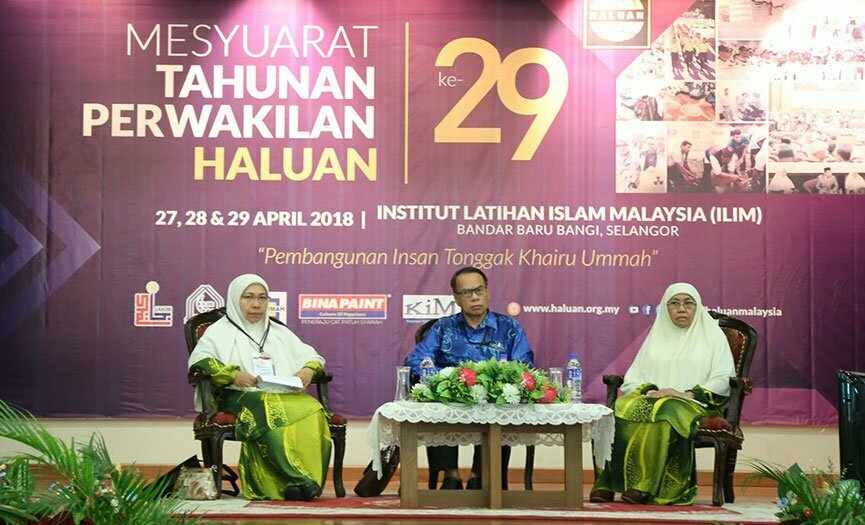 Ilmu, Teras Muktamar Wanita HALUAN 2018