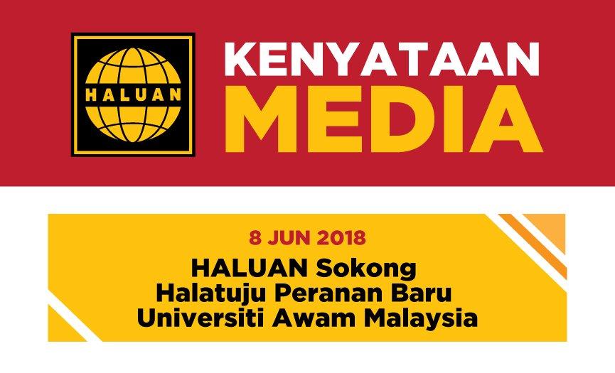 HALUAN Sokong Halatuju Peranan Baru Universiti Awam Malaysia