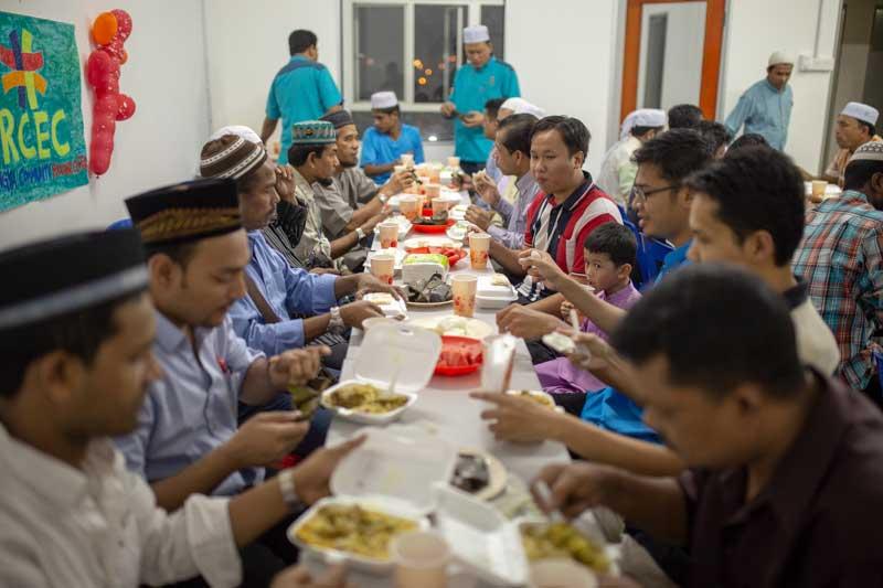 Komuniti Rohingya di Malaysia Iftar Bersama