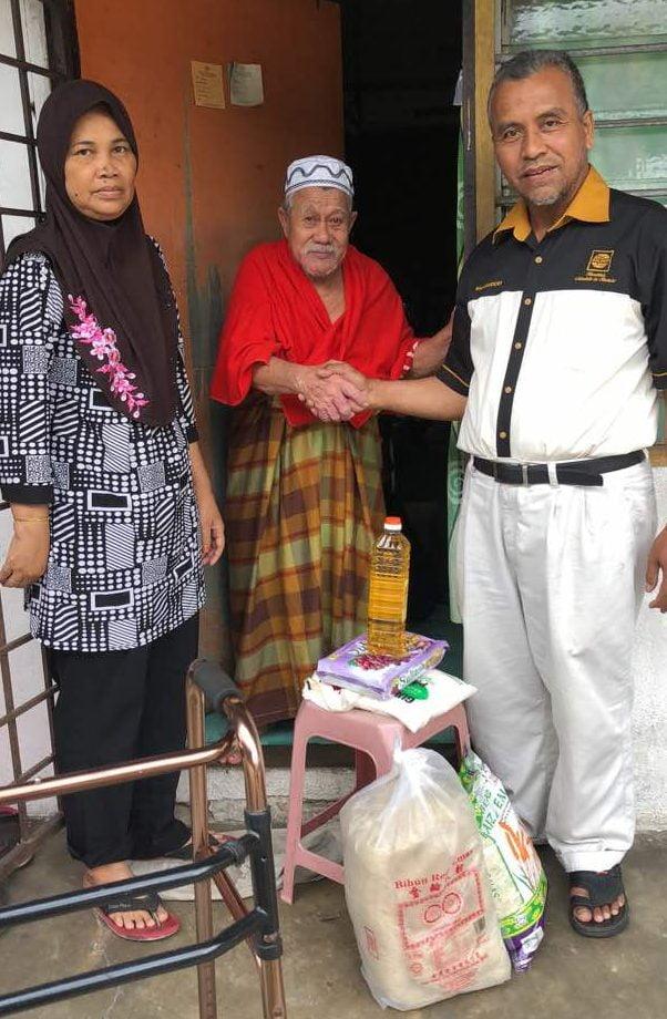 Asnaf & Mualaf Kampung Medan Bersama HALUAN