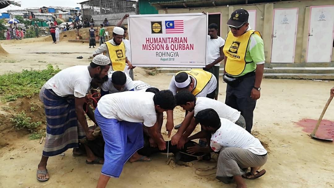 Program Ibadah Korban Rohingya Berjalan Lancar