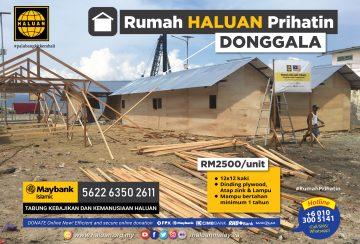 Rumah HALUAN Prihatin Donggala