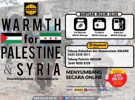 Warmth for Palestine & Syria