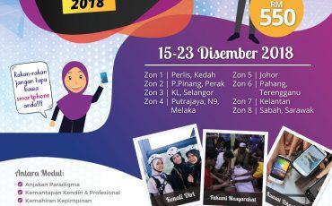 Kursus Jati Diri & Kesukarelawanan Remaja (i-JDK) 2018