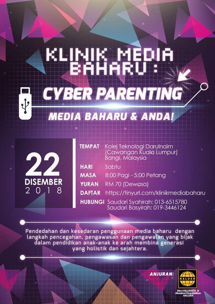 Klinik Media Baharu: Cyber Parenting