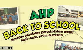 Kempen Persiapan Sekolah Pelajar Yatim AHP