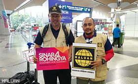 Fasa Kedua Agihan Tabung Sinar4Rohingya