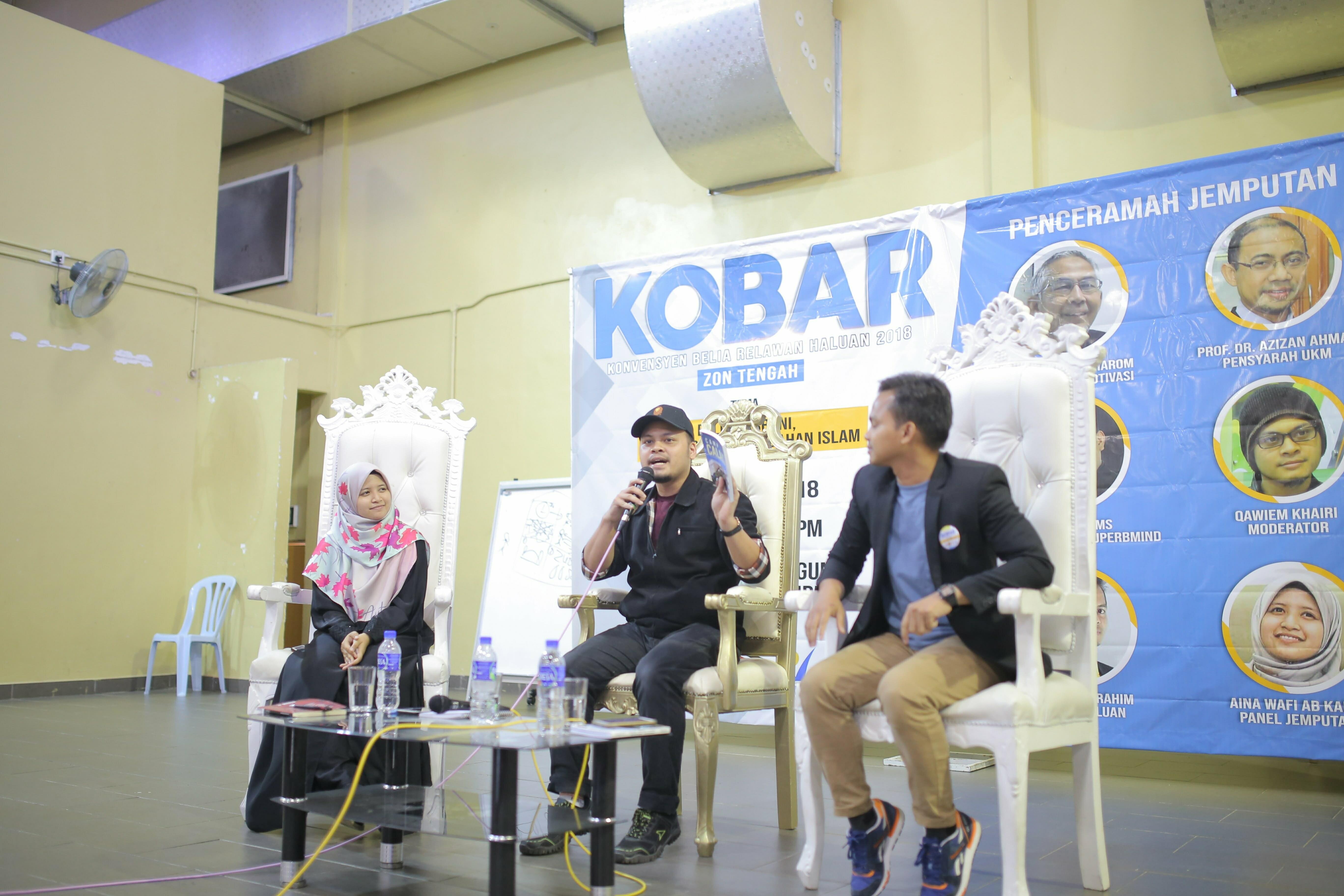 Sambutan Hangat KOBAR 2018 Zon Tengah