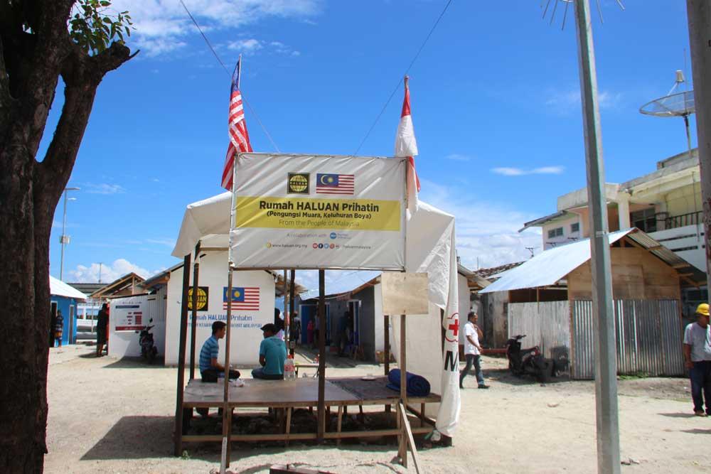 Rumah HALUAN Prihatin Bawa Sinar Baharu Buat Donggala