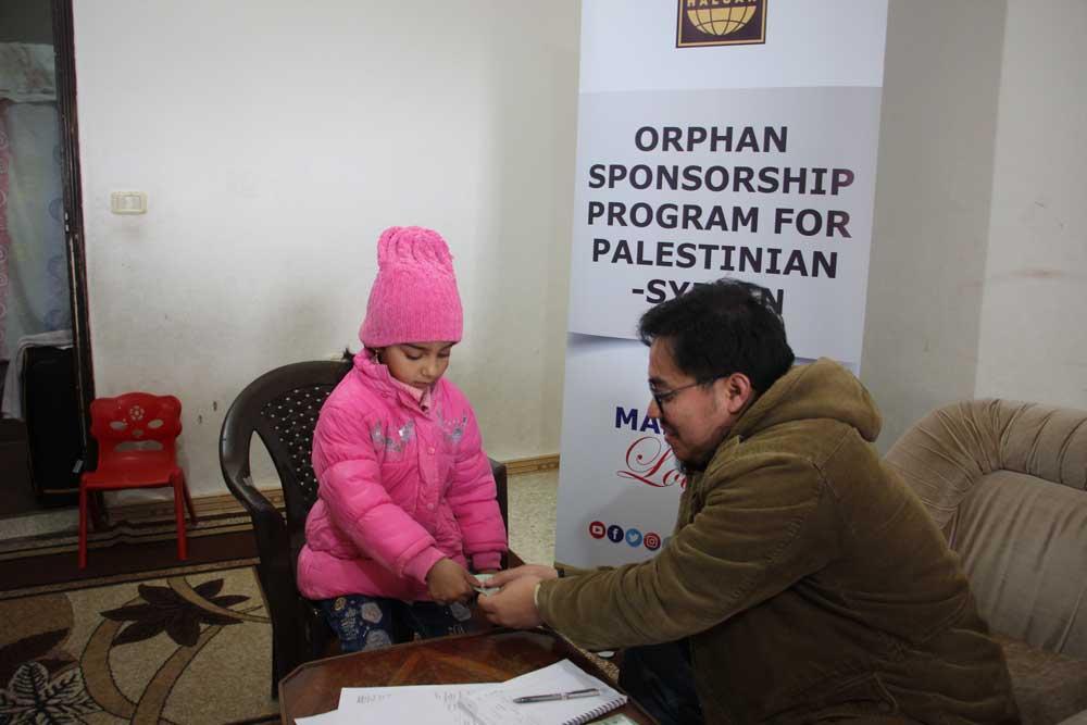 Akhirnya, HALUAN Masuki Kem Pelarian  PALESTIN-SYRIA