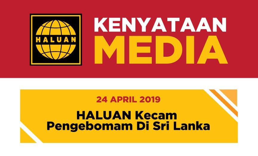 HALUAN Kecam Pengeboman di Sri Lanka
