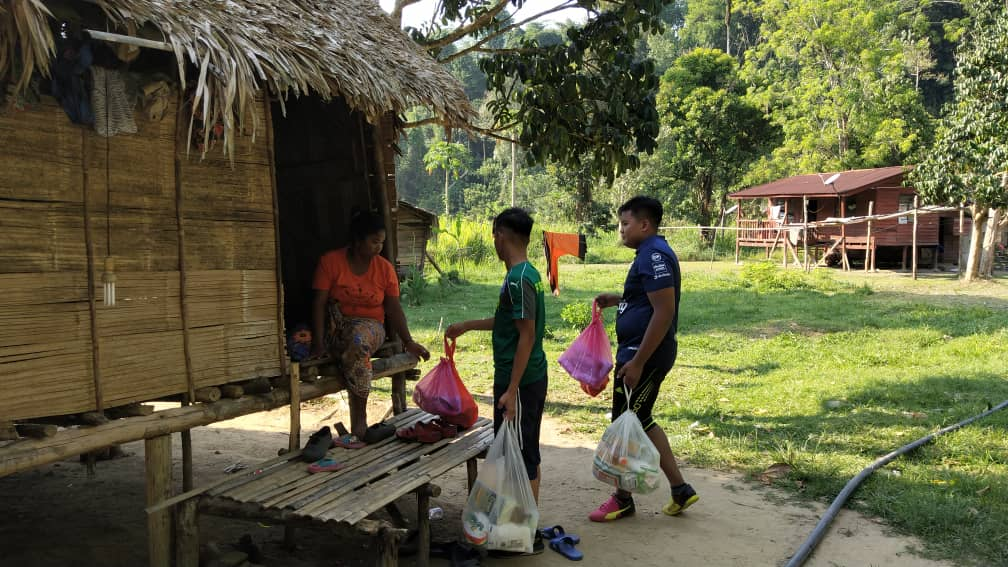 PSP Sinambung Khidmat Masyarakat Orang Asli Air Banun