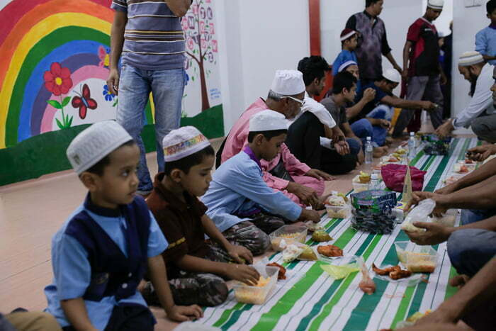 HALUAN Iftar Bersama Komuniti Rohingya