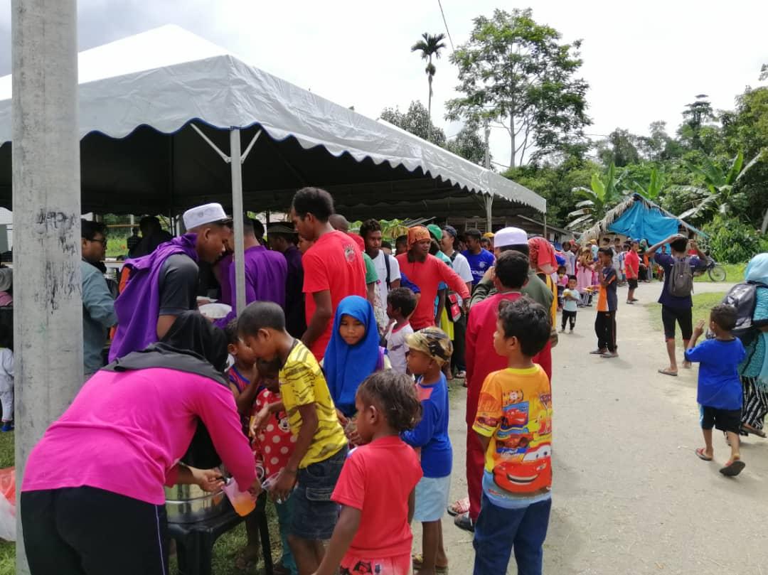 Sinar Aidilfitri Bersama Orang Asal RPS Air Banun