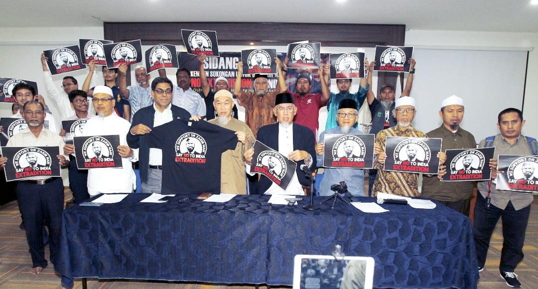 "HALUAN Pertahan Hak ""Tiada Ekstradisi"" Dr Zakir Naik"