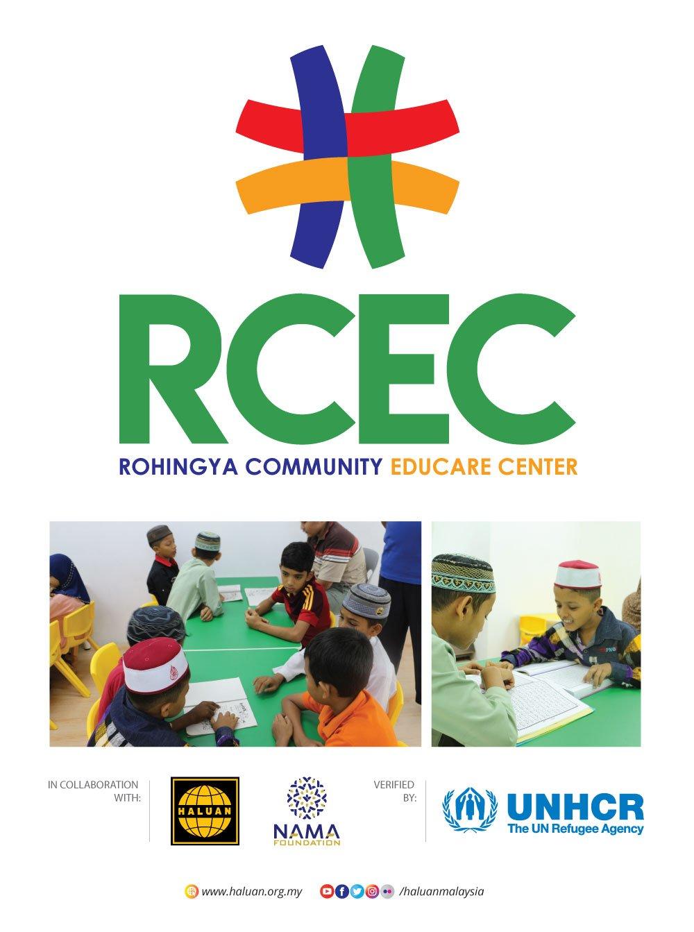 UNHCR Iktiraf RCEC Gabungan HALUAN-NAMA Foundation