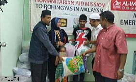 HALUAN Santuni Masyarakat Rohingya