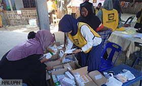 HALUAN Akan Teruskan Misi Bantuan Gempa Di Aceh