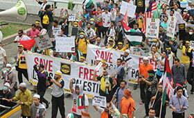 Rakyat Malaysia Serah Memo Bantahan Pencabulan Masjid Al-Aqsa Ke Kedutaan Amerika