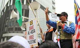 Susuli Perhimpunan Dengan Semangat Al-Aqsa