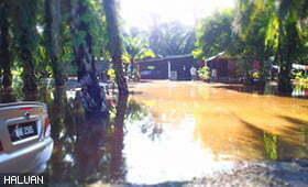 HALUAN Selangor Buka Bilik Gerakan Banjir