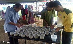 Bubur Lambuk HALUAN Pahang Menambat Hati