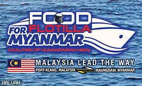 Food Flotilla For Myanmar Akan Diteruskan Atas Dasar Kemanusiaan