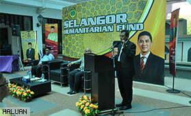 HALUAN Terima Dana Selangor Humanitarian Fund