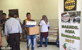 Majlis Penyerahan Hamper Kasih Murabitat Al-Aqsa