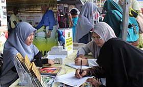 HALUAN Pahang Santuni Saudara Baru Di Karnival Muhibbah & Ukhuwah