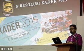 Peningkatan Pemuda ke KADER 2015