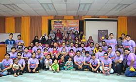 Silaturahim Ahli Kian Mekar di Hari Keluarga KBHI 2015