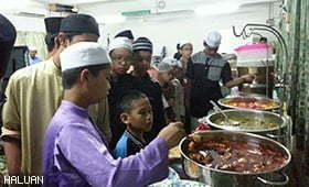 Iftar & Infaq HALUAN PJ Dengan Anak Yatim Miskin