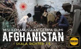 NGO Muslim ke Misi Kemanusiaan Gempa Afghanistan