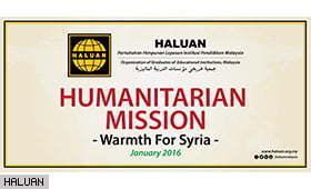Misi Bantuan Musim Sejuk Syria Bakal Berlepas