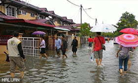 HALUAN Gerakkan Bantuan Banjir