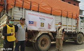 Terus Santuni Mangsa Gempa Nepal
