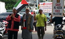P. Pinang Bersatu Kutuk Pencerobohan Baitul Muqaddis