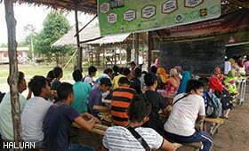 Biro Pendidikan HALUAN Melawat Sabah