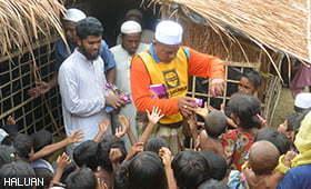 Pengharapan Sinar Kehidupan Baru Untuk Rohingya
