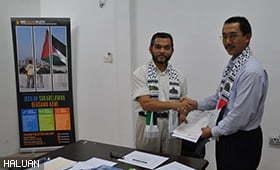 Pelaburan Hartanah Berhad Sumbang Untuk Palestin
