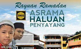 Kempen Rayuan Ramadan Anak-anak Yatim-Miskin HALUAN