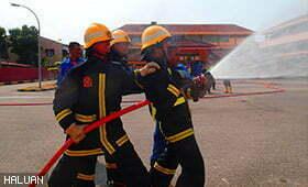 Latihan Pengurusan Bencana Seliaan JPAM Perkasa Relawan HALUAN