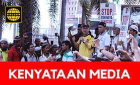 KENYATAAN MEDIA: Isu Penghapusan Etnik Ke Atas Masyarakat Rohingya Di Myanmar
