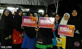 Derita Etnik Rohingya Turut Dirasai Pelajar Maahad