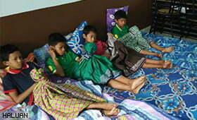 SKH Nurses Bantu Majlis Khitan Kanak-kanak